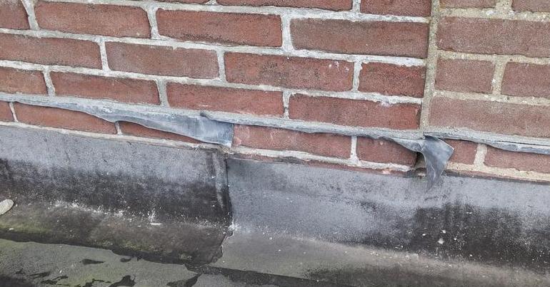 Super Loodflap is vaak de oorzaak van lekkage - Bouwtechnische keuring WA36