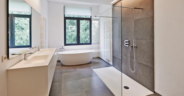 Foto Plexiglas Badkamer : Steeds meer plexiglas elementen in badkamer bouwtechnische keuring