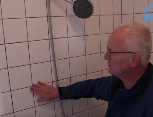 Inspectie badkamer met hoog vochtpercentage [video]