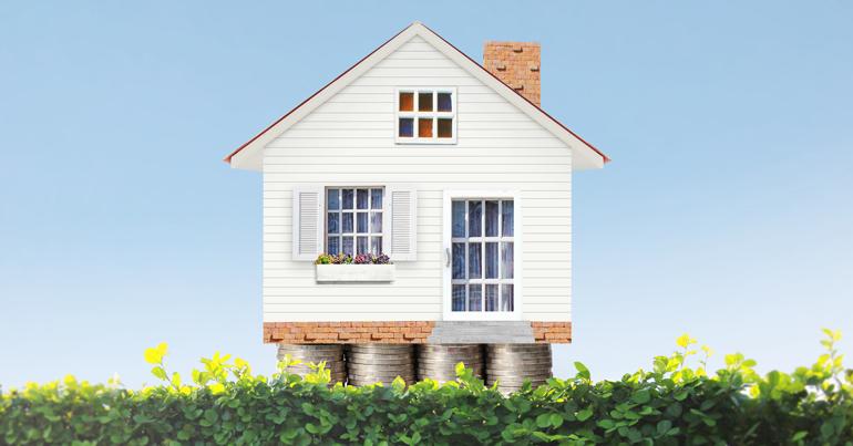 Bod intrekken op een huis